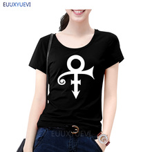 2019 NEW Prince Love Symbol Print Women tshirt Cotton Casual