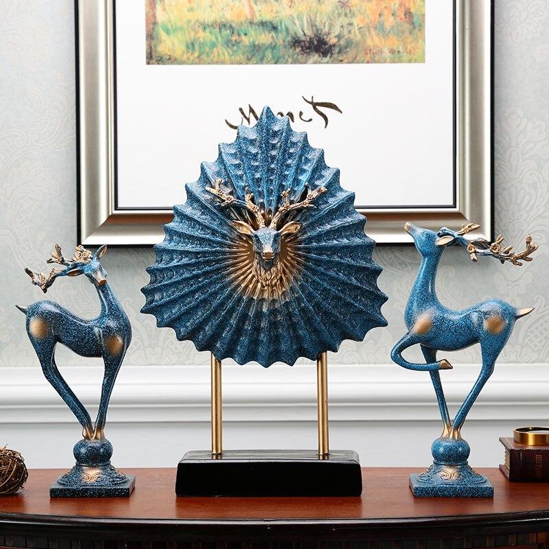 Elk créatif accessoires pour la maison un salon bureau meuble TV porche cave à vin ornement ameublement