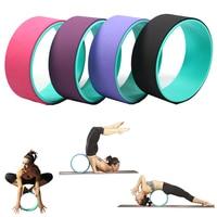Yoga Circle Pilates Yoga Wheel Stretching Improving Backbends Gym Waist Shape Bodybuilding Outdoor Sports Fitness Tool Equipment