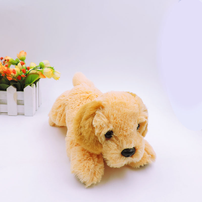 20cm Kawaii Labrador Puppy Dogs Plush Toys Stuffed Simulational