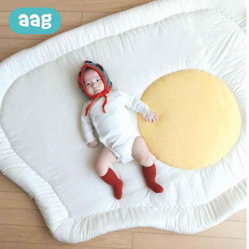 AAG Baby Play Mat Cushion Children Carpet Rug Egg Doll Toy Thick Baby Crawling Play Mat Baby Floor Bed kid Sleeping mattress