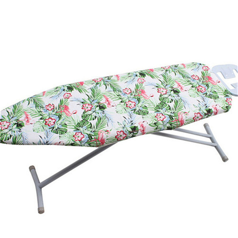 New Modern Ironing Board Cover Cotton Easy Fit Pad Thick Foam Back Luxury Washable Multi-color Optional Iron Table