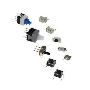Умная электроника 100 шт./лот 10 видов тактильных переключателей кнопочный переключатель SMD Такт