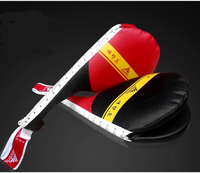Free Shipping Adults Taekwondo Foot Protector Target Training Dobok Uniforms Black Belt Karate Martial Arts