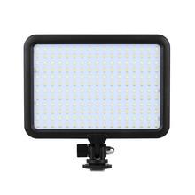 Triopo ttv-204 equipo fotográfico cámara luz de vídeo led panel de la lámpara 3200 k ~ 5500 k regulable para canon nikon pentax dslr cámara