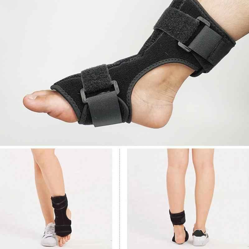 23fd5b0a4e62 ... 1PC Plantar Fasciitis Dorsal Night & Day Splint Foot Orthosis  Stabilizer Adjustable Drop Foot Orthotic Brace ...