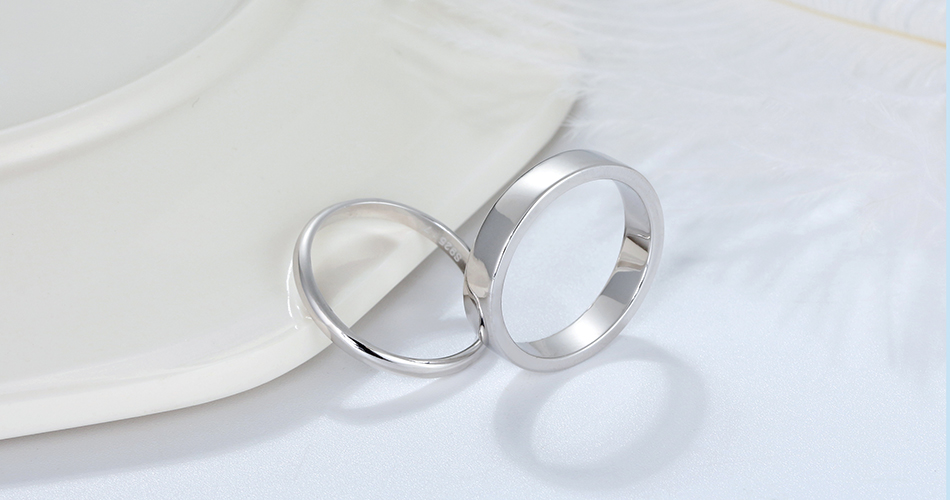 HTB1BFEhXvvsK1Rjy0Fiq6zwtXXaK ORSA JEWELS Real 925 Sterling Silver Female Rings Classic Round Shape Simple Style Anniversary Wedding Ring Fashion Jewelry SR73