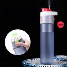 Botella de Spray de Agua creativo Fresco De Paja Botella de Agua de Los Deportes Taza Espacio Resistente Nutrición Bici Botellas Vaso