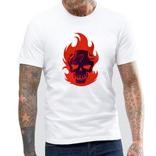 BLWHSA Brand Clothing Suicide Squad Hip Hop Men's T-shirt Swag 100%Cotton Summer Short Sleeve O-neck Men Tee&Top Camiseta