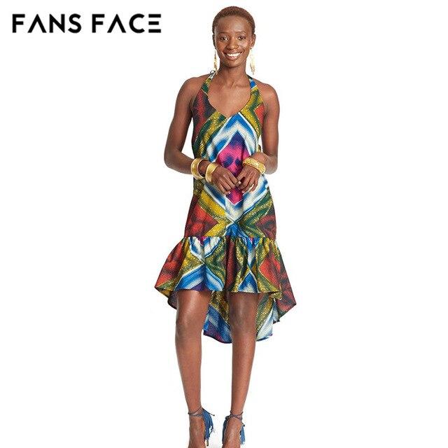 4c294e2149ec FANS VISO 2017 nuovo tradizionale Africana abiti per le donne abbigliamento  Tessuto Del Ricamo del Cotone