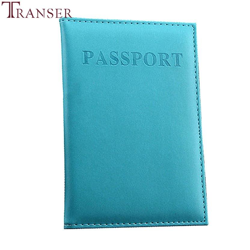 Transer Dedicado Nice Travel Passport Case ID Card Cover Holder - Monederos y carteras