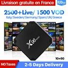 X96 Mini IPTV Sweden Spain Italy Germany IP TV Android 7.1 1+8G IP TV Box Albania Greek Nordic UK IUDTV 1 Year IPTV Subscription