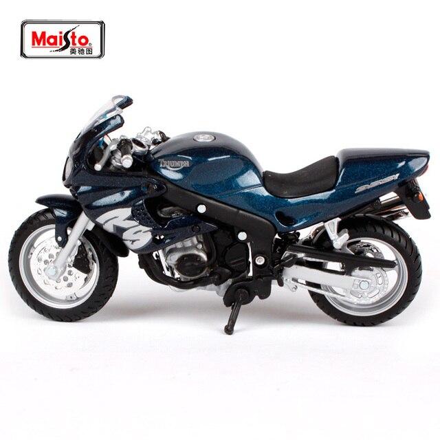 Maisto 1 18 Triumph Sprint Rs Motorcycle Bike Diecast Model Toy New