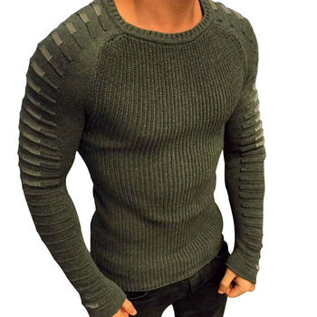af5a7434ff467 Product Offer. Осень-зима свитер мужской 2019 Повседневный вязаный пуловер  ...