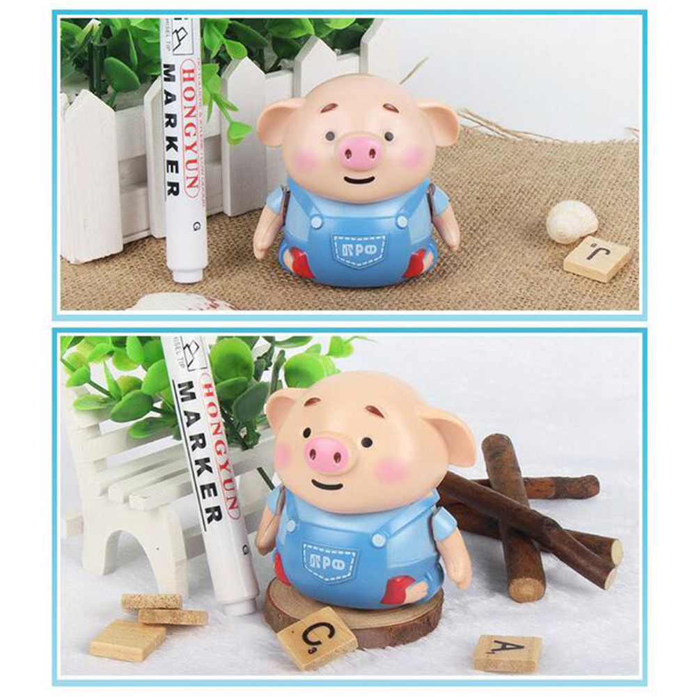 Mini Pig Robot Pen Inductive Remote Radio Vehicle With Light Music Electric Animals Kids Toys Early Education Toys For Children