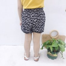 Baby Girl Leopard Short Pants 2019 Summer New Bread Shorts Children Clothing Girls PP Pants 1 2 3 4 5T Years(China)