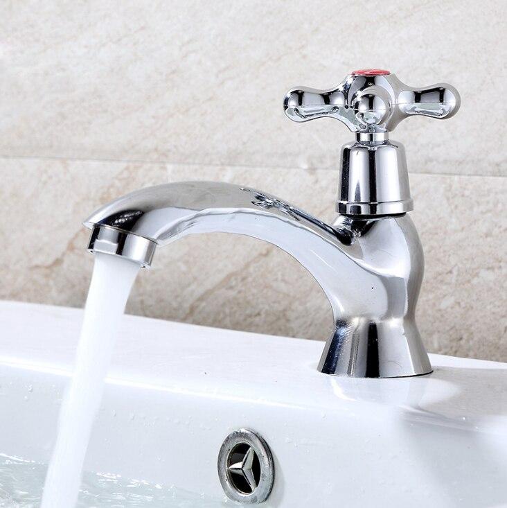 Fashion Cross Handle Zinc Alloy Basin Sink Taps With Long Torneira ...