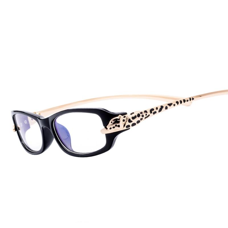 57ac74dca96fa Itens em Liquidação Mulheres Luxo Óculos Quadrados Quadro TR90 Armações de  Óculos de Leopardo Óculos Óculos de Leitura Óptica