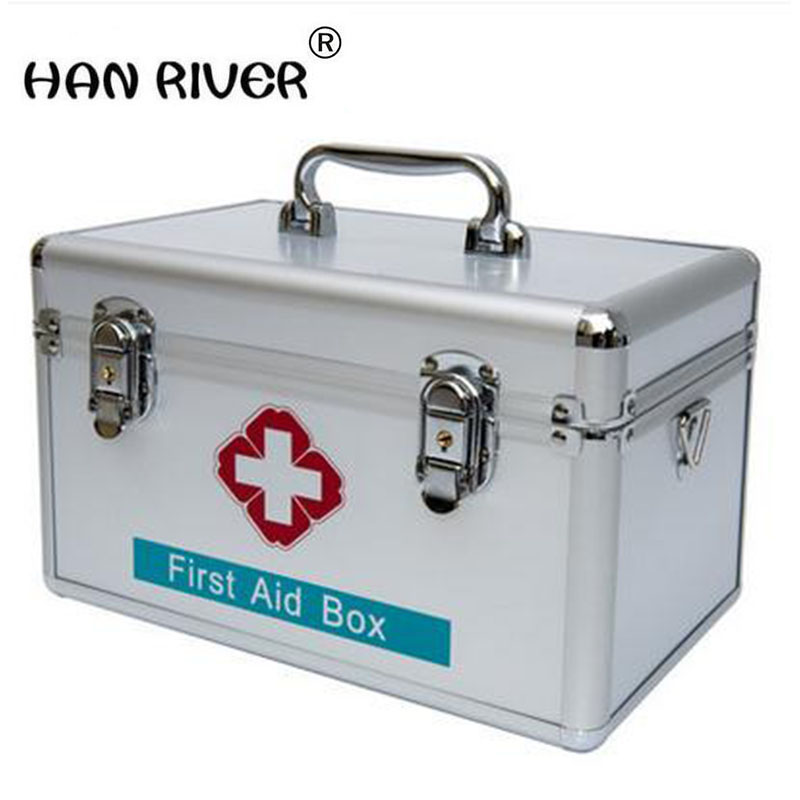 HANRIVER 2018 Family medicine cabinet multilayer medical first aid kit medicine household children receive a case plastic box household product plastic dustbin mold makers