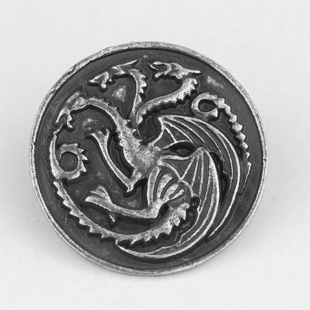 A Song of Ice and Fire Game of Thrones Brooch Targaryen Dragon Broches and  Pins 12732040605c