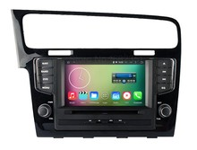 Quad Core HD 1024*600 Android 5.1.1 Car DVD Player GPS for New Golf 7 2013 2014 2015 with Radio BT WiFi  Mirror-link Canbus