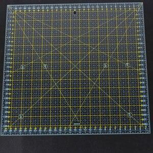 Image 1 - Piazza 30*30 Centimetri Patchwork Righello di Spessore Acrilico Trasparente Quilting Cucito Governanti di Taglio Righello per Su Misura Stencil Strumenti di Misura