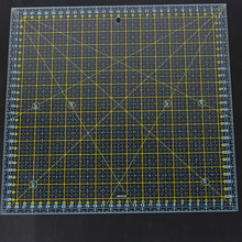 Square 30*30 Cm Patchwork Ruler Thick Acrylic Transparent Quilting Sewing Rulers Cutting Ruler for Tailor Stencil Measure Tools