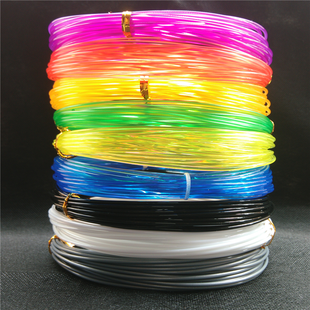 10 x 10m Professional filament 3d printing Materials petg 1 75mm filament for Makerbot Reprap UP