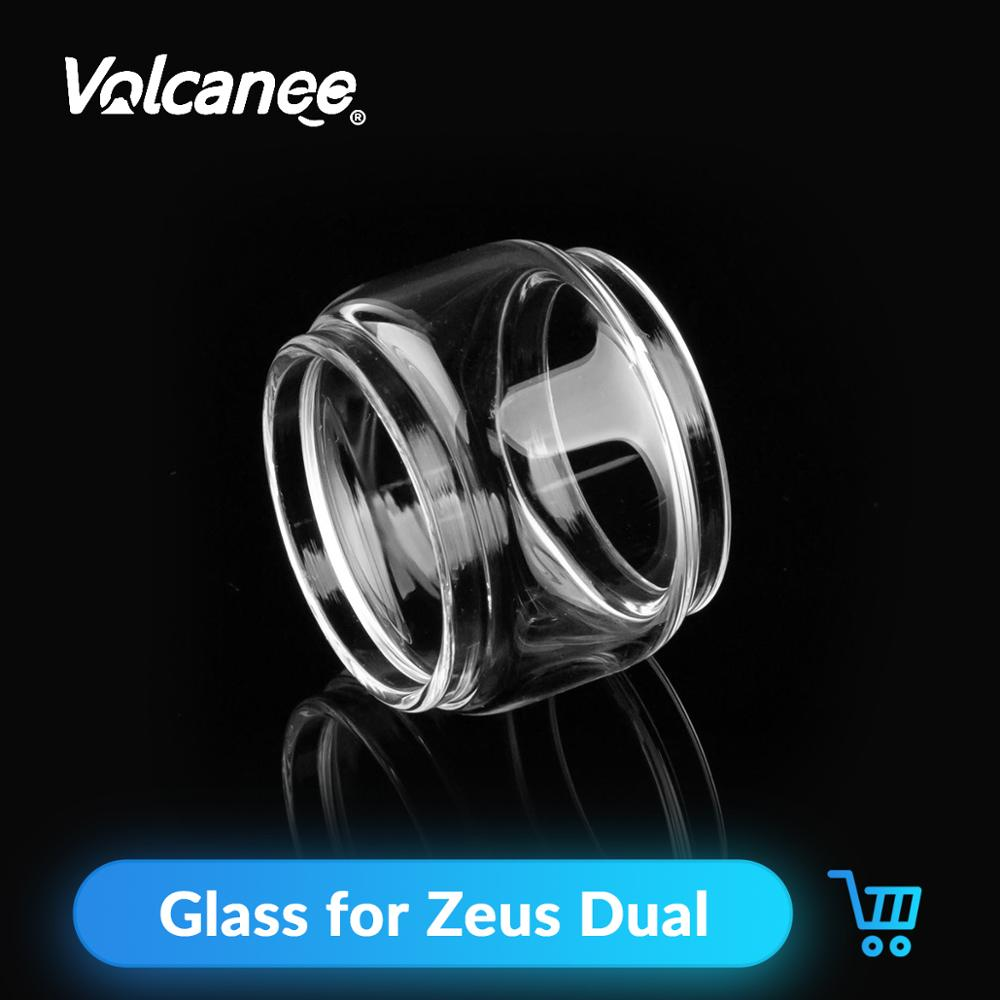Volcanee Fatboy Replacement Glass Tube Clear <font><b>30</b></font> Diameter for Zeus Dual RTA Atomizer E Cigarettes Glass Tank <font><b>Vape</b></font> Accessories image