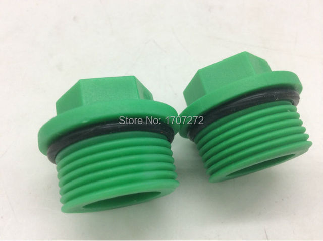 Free shipping pcs lot ppr pipe plugs quot bsp male