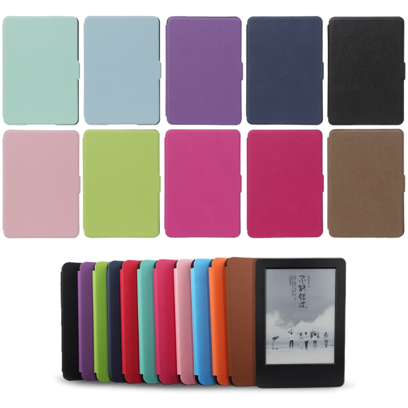 Protective Case Ultra Slim Protective Shell Case Cover For 6 Amazon Kindle Paperwhite 1/2/3 ultra slim case for amazon kindle paperwhite 1 2 3 6 case cover for kindle paperwhite 6inch e book funda tablet sleep