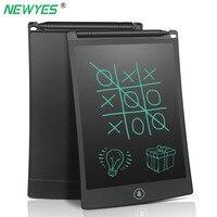 NEWYES 8,5 дюймов LCD цифровой планшет блокнот для рисования электронный блокнот для рукописного ввода графическая доска со стилусом детская руч...