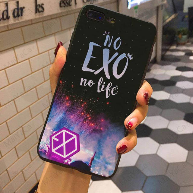 EXO THEMED IPHONE CASE (9 VARIAN)