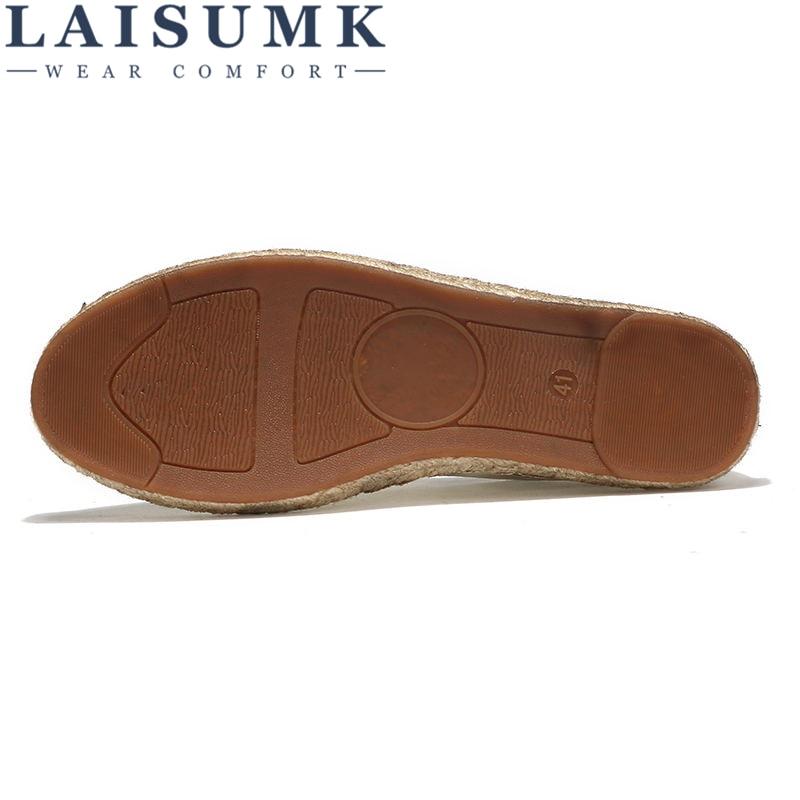 Cómodo Transpirable Laisumk Hombres Zapatos Libre Lona Alpargatas caqui De Beige Para On Slip negro Mocasines Hombre Planas 2019 Envío Casual 5zAYxx