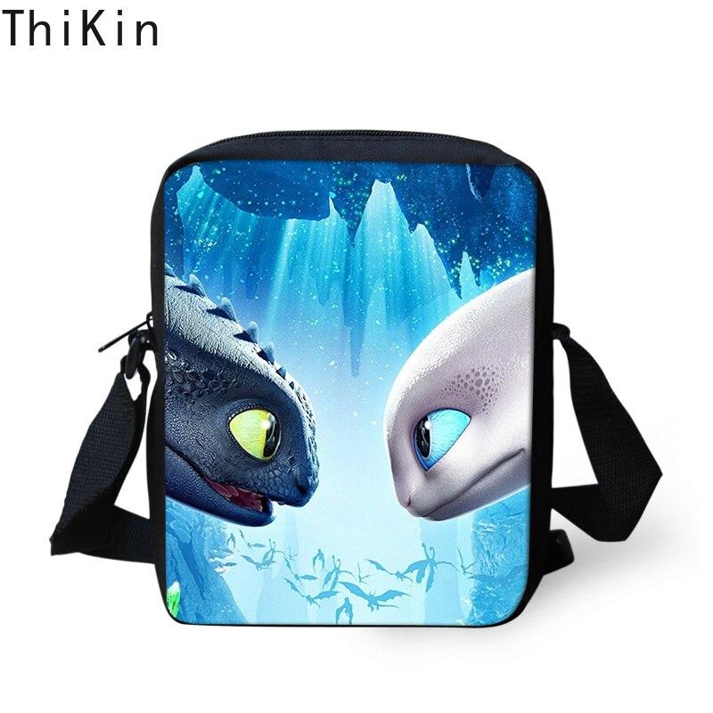 56cfbe020f6e THINK 3D How To Train Your Dragon Printing Kids Messenger Bags Boys Mini  Crossbody Bag Handbags for ...