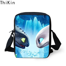 THINK 3D How To Train Your Dragon Printing Kids Messenger Bags Boys Mini Crossbody Bag Handbags for Children Girls Women Stachel
