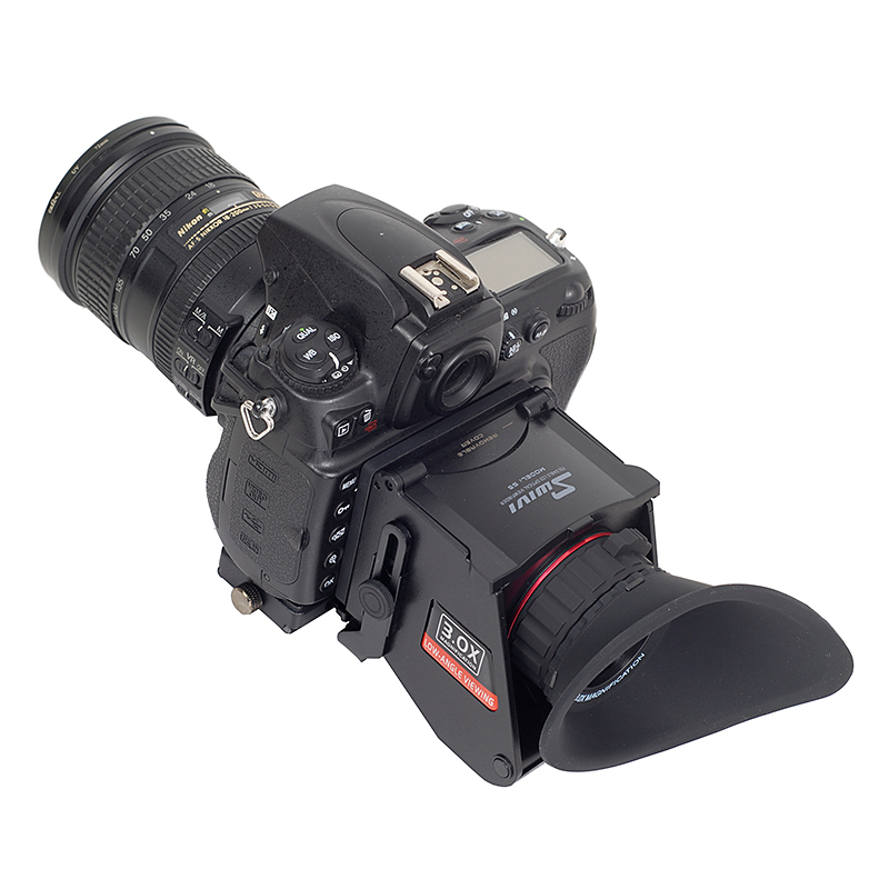 GGS Swivi S5 Viewfinder with 3 3 2 LCD Screen for 5D2 5D3 6D 7D 7D2