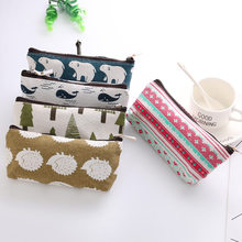 Hot New Forest Animal Travel Storage Bag Portable Digital USB Charger Wires Cosmetic Zipper Pouch Case Accessories Supplies(China)