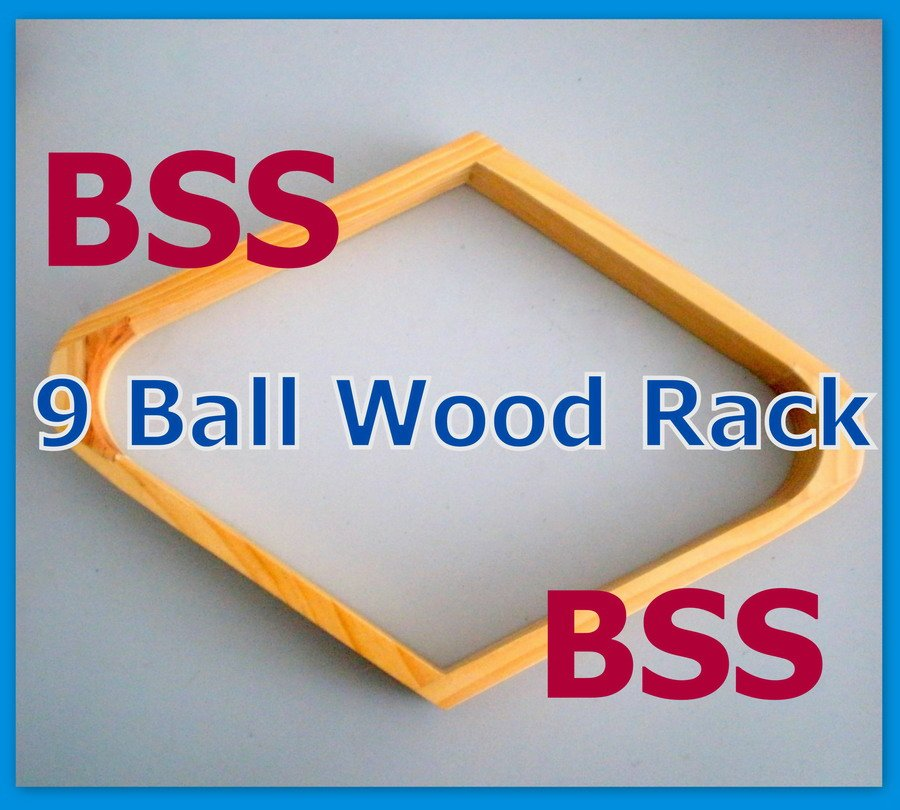 Free Shipping 1PCS 9 Ball Rack Natural Finish Pool Table Billiards SNOOKER Wood NEW WOODENFree Shipping 1PCS 9 Ball Rack Natural Finish Pool Table Billiards SNOOKER Wood NEW WOODEN