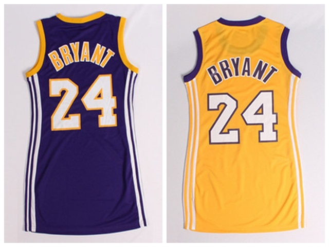 Top Quality Kobe Bryant Women Basketball Dress Rev 30 Embroidery Stitched  Logo Kobe Bryant Yellow Purple Basketball Sportswear eef252f280