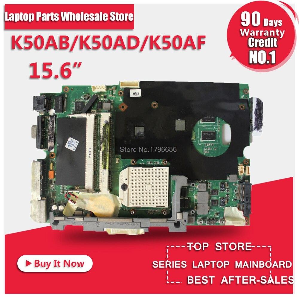 где купить laptop motherboard for ASUS K40AB K40AD K40AF K50AB K50AD K50AF motherboard free shipping по лучшей цене