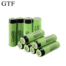 GTF 100% Original NCR 18650 Li-ion Rechargeable Battery 2/ 4/8/12/16/20Pcs 3400Mah 3.7V For Panasonic 18650 Rechargeable Battery