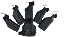 Military Safariland P226/M9/1911/glock/usp Light Bearing Belt Waist Gun Holster Hunting Accessories Leg SIG Thigh Ho