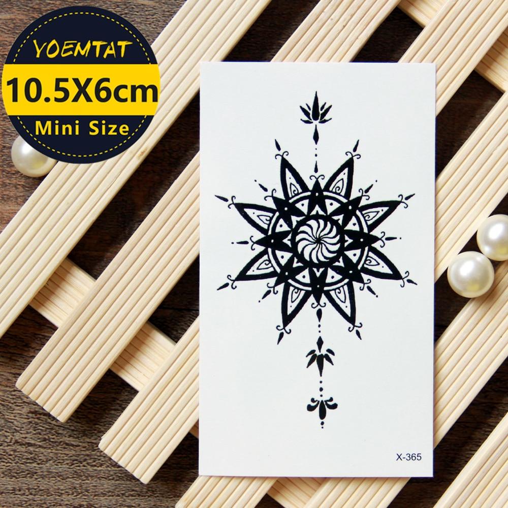 10.5*6cm Waterproof Temporary Tattoos Stickers Totem Tattoo