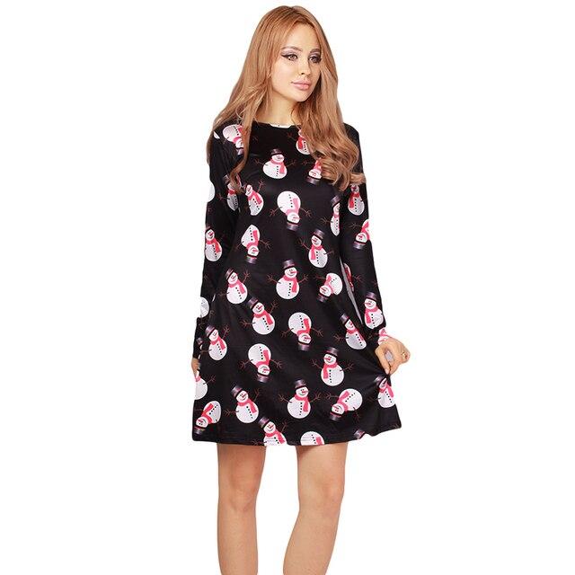 Christmas Dresses Plus Size Women