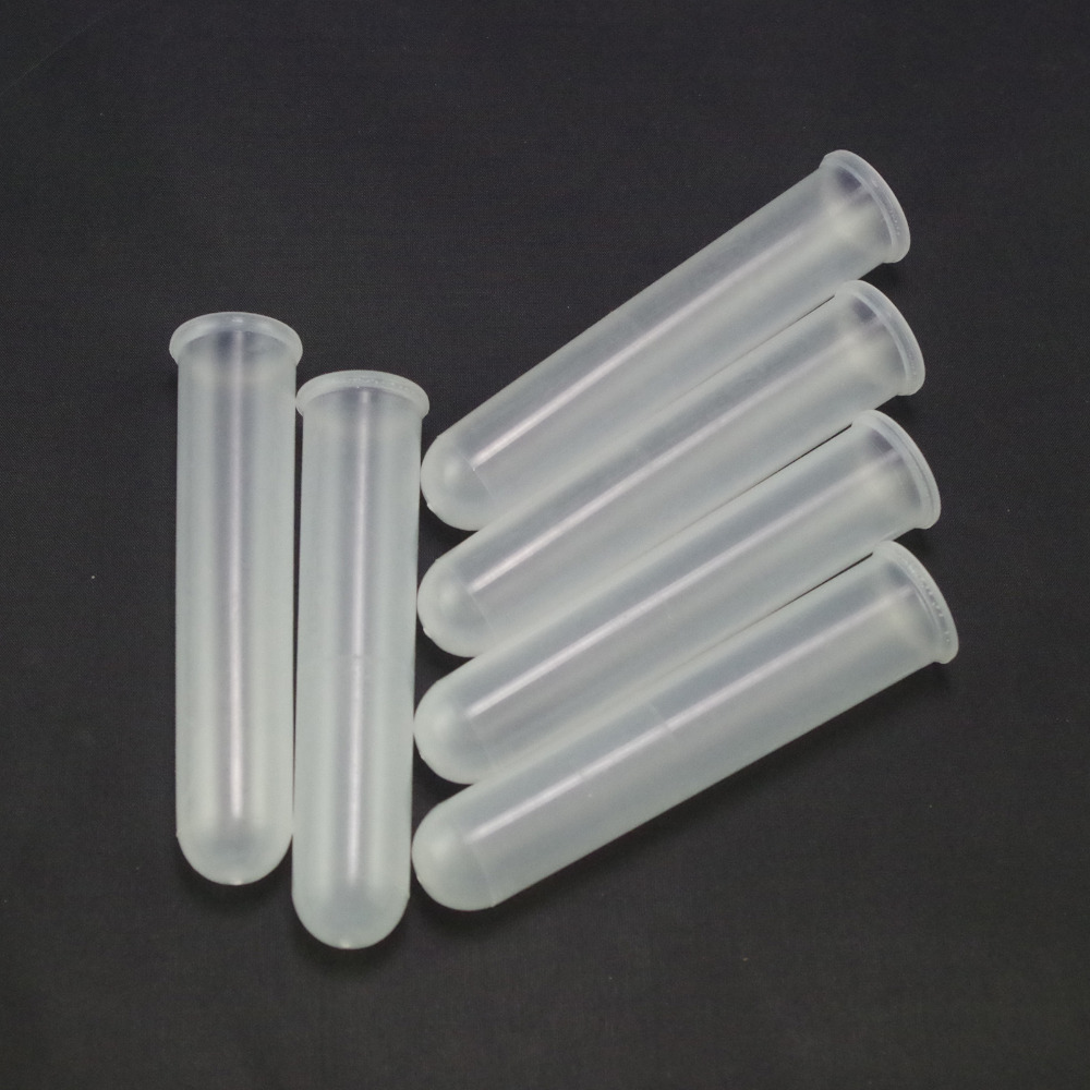 20ml Plastic Test Tubes Centrifuge Tubes Round Bottom With Cap