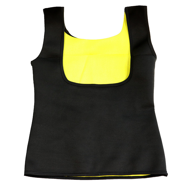 2018 Women Clothes Neoprene T-Shirt Tops New Fashion Body Shapers Slimming Waist Slim Vest dropship Hot Sale 1