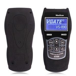 Image 3 - MaxiScan Leitor de Código de Carro Ferramenta de diagnóstico Vgate VS890 VS890 OBD2 Scanner Suporte Multi Carros de Marcas Frete Grátis
