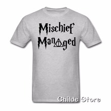 731ef163a Mischief Managed Shirts T Shirts Top Tee for men Boys Men funny t shirt  casual top