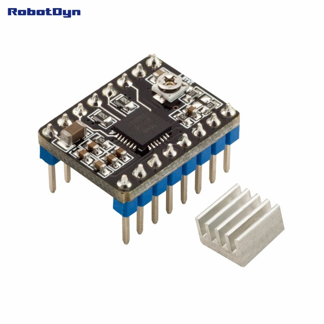 A4988 Stepper motor Driver for 3D printers, with heating sink